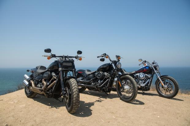 History of the Harley Davidson Softail – Deadbeat Customs Blog